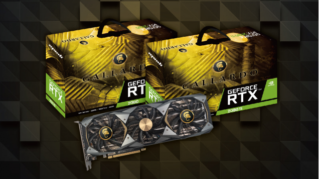 Manli GeForce® RTX 2080 Ti & RTX 2080 Gallardo with RGB Lights